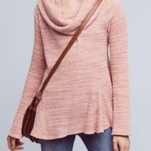 Anthropologie Postcard Maurisa Cowl neck Knit top